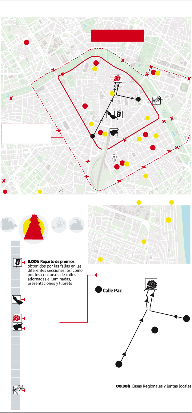 Mapa Fallas Valencia 2019.Premios Fallas 2019 La Falla Ganadora Es L Antiga Primer